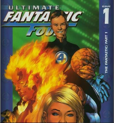 Complete Marvel Ultimate Fantastic Four Collection - 61 Issues on DVD CBR Format