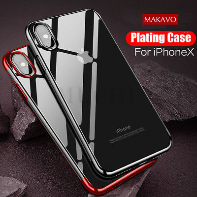 Case for Apple iPhone Xs Max Xr X Cover New Slim ShockProof 360 Hybrid Silicone