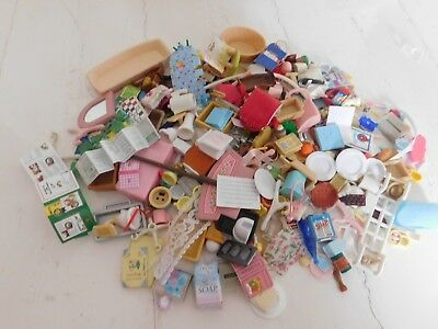Sylvanian Family Huge Bundle Accessories Some Spares