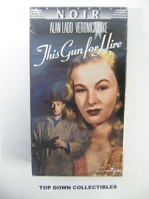 Alan Ladd, Veronica Lake    This Gun For Hire    VHS Movie  Unopened
