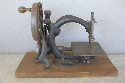 Ancienne machine à coudre Wilcox Willcox 1880 Old Vintage Antique Sewing Machine