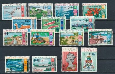 [G84231] Cayman Islands good lot Very Fine MNH stamps