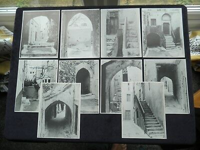 10 Postcards Paths Of Naxos In The Castle, Naxos, Greece, South Aegean
