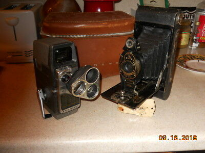 VINTAGE CAMERA LOT //Bell and Howell and Kodic