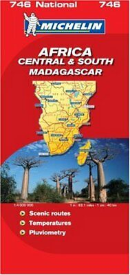 Africa Central and South (Michelin National Maps) Sheet map, folded Book The