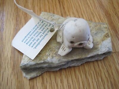 Little Harp Seals by Sue Rock Figurine w/ Tag