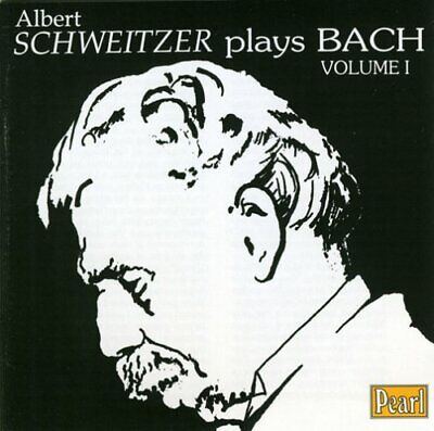 Schweitzer Plays Bach, Vol.1 -  CD XYVG The Cheap Fast Free Post The Cheap Fast