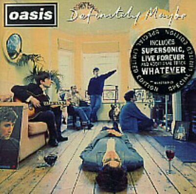 Oasis - Definitely Maybe - Oasis CD 2YVG The Cheap Fast Free Post The Cheap Fast