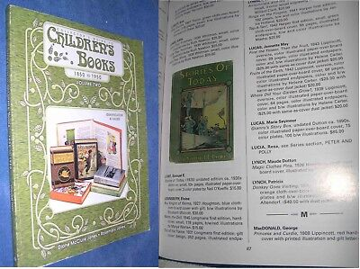 Collector's Guide to Children's Books, 1850 to 1950 by Diane McClure 1999