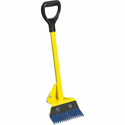 RoofZone Roof Riper with Steel Handle/Rubber Grip - Yellow 47 1/2in. Model#13831