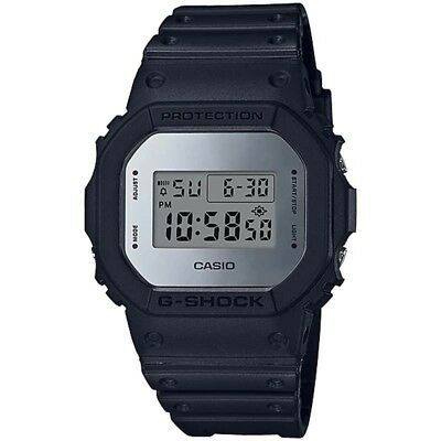 Casio G-Shock Black Resin Mens Digital Watch Dw-5600Bbma-1D