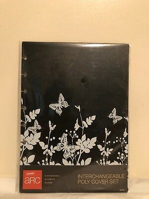 Staples, ARC Customizable Notebook System Interchangeable Poly Cover Set 5.5x8.5