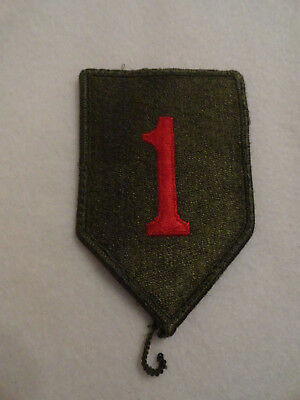 NEU!US Army 1st Infantry Division BIG RED ONE patch Uniform patch Aufnäher