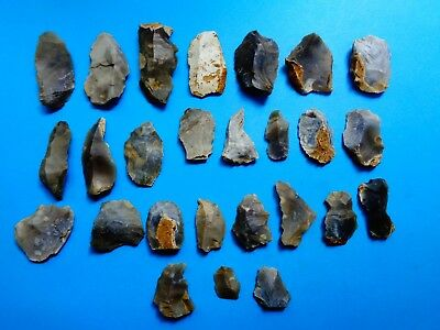 Nice Group of Flint Tools found recently in south west Wiltshire -Look!