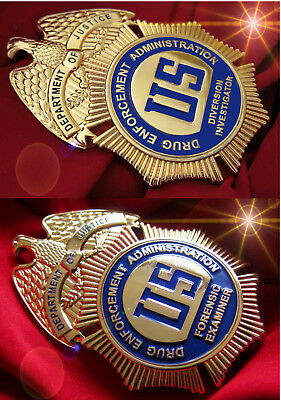 gl/ Historisches badge +  choose 1 x DEA >  Forensic Examiner or Diversion Inve.