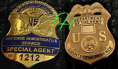 gl/ Historisches badge + Defense Investigative Service OR Counterintelligence