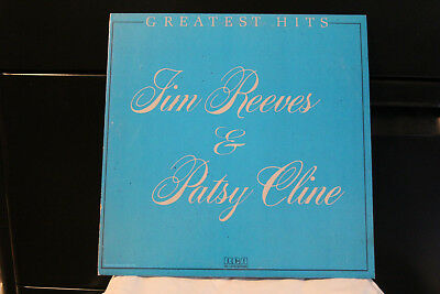 "Jim Reeves  Patsy Cline ""Greatest Hits""  Vintage Country Vg+  Lp Vinyl"
