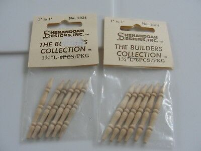 Dollhouse Miniature 2 Bags of Turned Spindles  NRFP