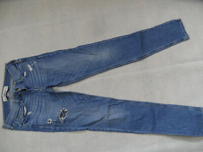 184a580bbf5c KAYAMARA NOMI, COOLE Slim Fit Jeans in Blue Used Destroyed, Stretch ...