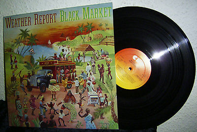 LP WEATHER REPORT - BLACK MARKET * CBS 1976 NL * Jaco Pastorius / Joe Zawinul