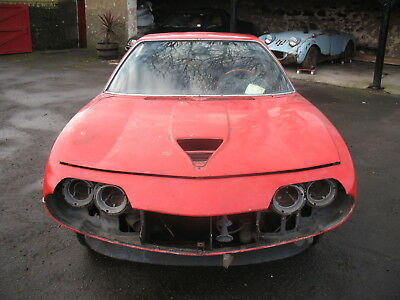 Alfa Romeo Montreal for restoration
