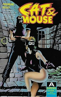 Cat & Mouse No.1 / 1990 Roland Mann & Mitch Byrd / Paul Gulacy Cover