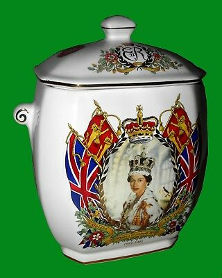 """RINGTONS ~ """"GOLDEN JUBILEE """"  1952 to 2002 ~ NEW CONDITION ~ 17 HI x 15 x 10 cm"""