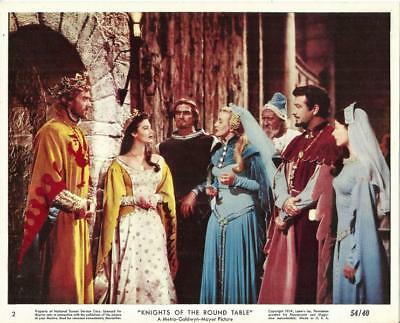 Robert Taylor Ava Gardner Lot Of 6 Knights Of The Round Table Mini Lobbies
