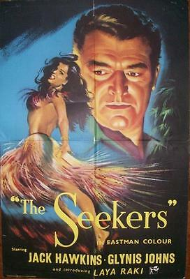 Laya Raki Jack Hawkins The Seekers Original Uk Double Crown Poster #2