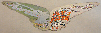1909 Alaska Yukon Pacific Exposition Brochure Fly On The Flyer Steamboat