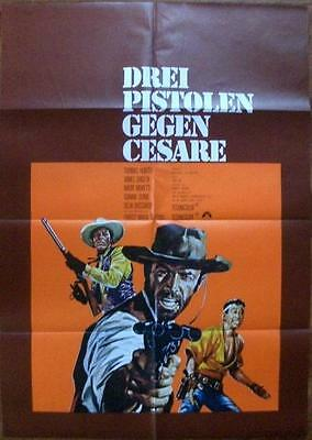Thomas Hunter Gianna Serra Three Pistols For Cesare Orig Spaghetti Western