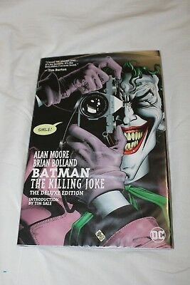 BATMAN: THE KILLING JOKE The  Deluxe Edition Hardback (Alan Moore) DC Comics