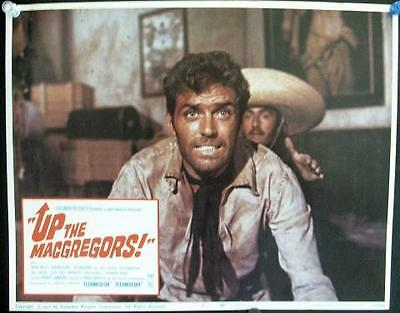 UP THE MaCGREGORS ORIGINAL VINTAGE SPAGHETTI WESTERN U.S. LOBBY CARD SET