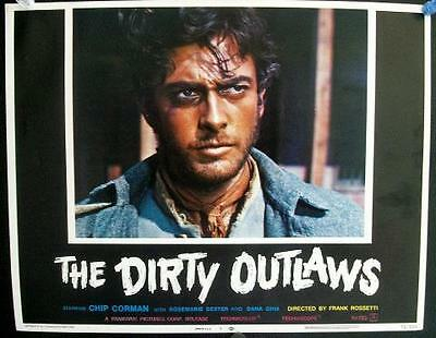 Franco Rossetti Spaghetti Western Dirty Outlaws El Desperado Orig Us Lobby Set