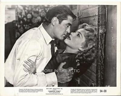 Anne Baxter And Steve Cochran Are Part Of The Carnival Story Orig Rko Still