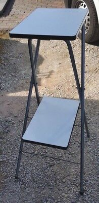 Two tier folding projector / OHP stand good condition @@CASH ONLY@@