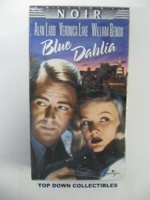Blue Dahlia  Alan Ladd, Veronica Lake, William Bendix    VHS Movie  Unopened