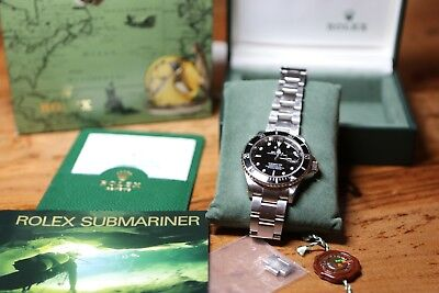 Original Rolex Submariner 16610 - Full Set - Box Papiere Rechnung Schweiz TOP