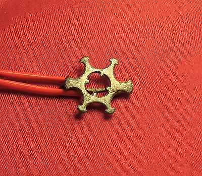 Rare Ancient Roman Sun Fibula or Brooch, 3. Century