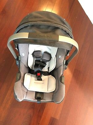 Nuna Pipa Jett Collection Infant Car Seat and Base, Gently Used
