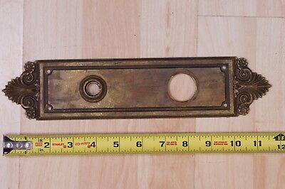 Nice Vintage Sargent & Co Cast Bronze Door Back Plate