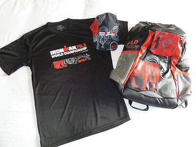 Ironman 70.3 World Championships 2018 Triathlon Finishers T-Shirt (M), Cap + Bag