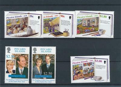 [122024] Pitcairn Is. 1998-99 Good sets (2) of stamps very fine MNH