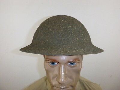 Nice Ww 2 Us M-1917A1 Helmet With Different Speckled Sand Finish And Liner