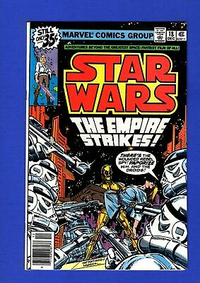 Star Wars #18 Nm- 9.2 1St Print High Grade Bronze Age Marvel