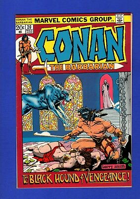 Conan #20 Nm- 9.2 High Grade Bronze Age Marvel Classic Barry Smith Cover