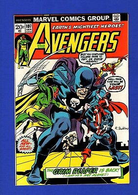 Avengers #107 Nm- 9.2 Glossy Bronze Age Marvel Key