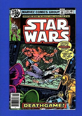 Star Wars #20 Nm- 9.2 1St Print High Grade Bronze Age Marvel