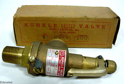 "Kunkle 83-4 Safety Relief 1/2"" Valve"