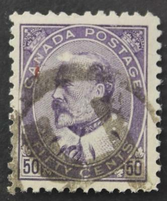 Canada #95 Used, King Edward VII Series High Value